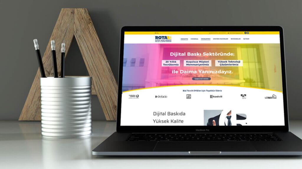 Rota Dijital – Web Tasarım
